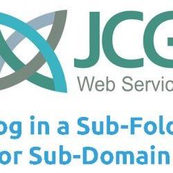 Blog in a Sub-Folder or Sub-Domain?